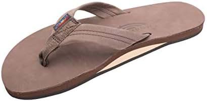 Rainbow Sandals Men's Hemp Single Layer Wide Strap with Arch
