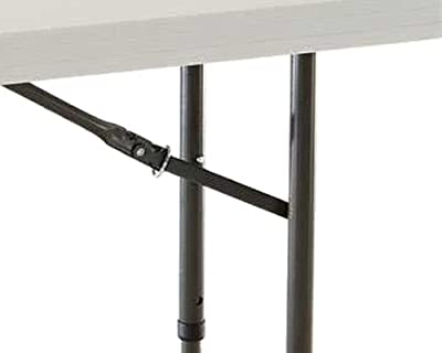 Lifetime 80161 4-Foot Commercial Adjustable Height Folding Table