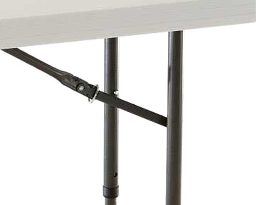 ... 4 Foot Commercial Adjustable Height Folding Table. Cosco ...