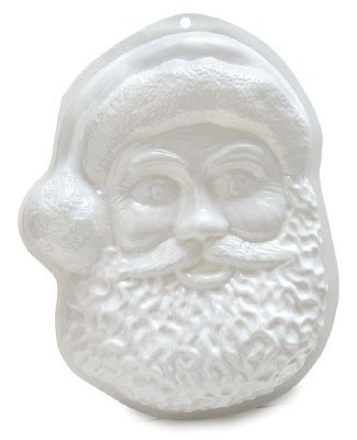 CK Products Santa Face Pantastic Plastic Cake Pan by CK Products
