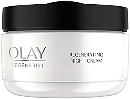Olay Regenerist Crema de Noche Regeneradora 50ml, Suaviza el Aspecto de las Arrugas por la Noche