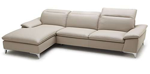 J And M Furniture 179371 LHFC 1911B Sectional Left Facing Chaise In Taupe