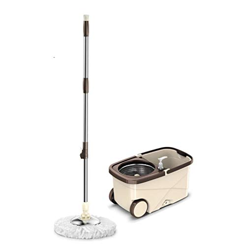 Stainless Steel Rotary Mop Dry Wet Mop Mop Bucket Home Office Cleaning Tool Mop