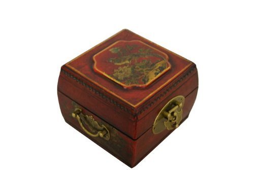 Oriental Jewelry Box - Asian Home Vintage Chinese Jewelry Keepsake