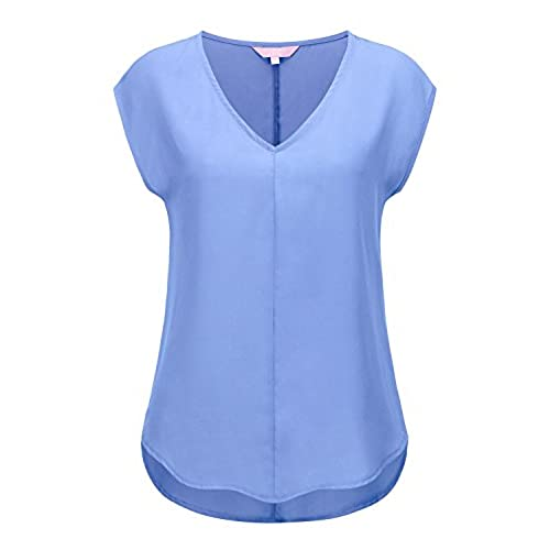 Selected Light - Sleeveless Shirt Women blue