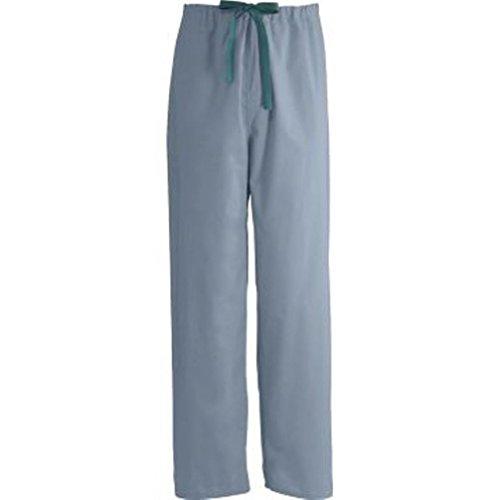 700PTZXS-CM - Medline Encore Unisex Reversible Drawstring Scrub Pants,Misty (Xs Reversible Unisex Pants)