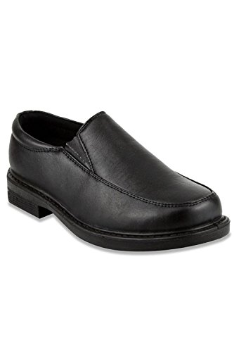 French Toast Matt Loafer (Toddler/Little Kid/Big Kid),Black,1 M US Little Kid (1 Black)