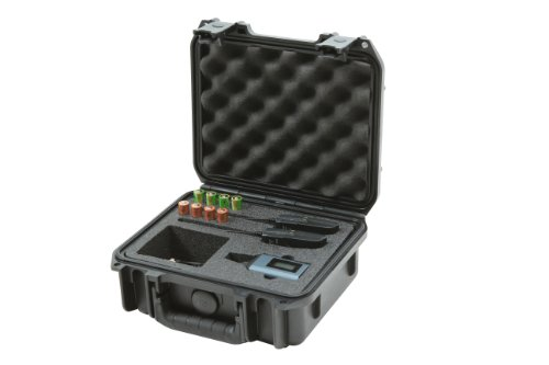 SKB 3I0907-4-SWK iSeries Injection Molded Case for Sennheiser SW Wireless Mic Series (4 Wireless Mic System Case)