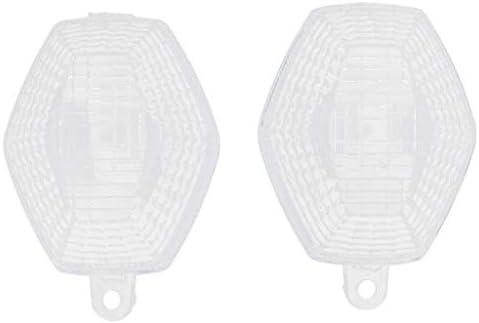 Claro 2 Pieza Lente de Luz de Se/ñal de Giro para Suzuki DL 650 V-Strom Plastic/ó