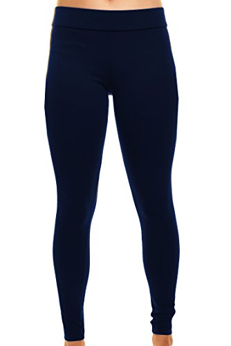 Top Matty M Ladies Legging, Thicker Material, Wide Waist Band X-Small free shipping