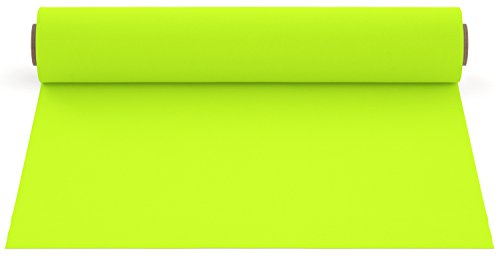 (Firefly Craft Fluorescent Heat Transfer Vinyl For Silhouette And Cricut, 12 Inch by 20 Inch, Bright Yellow)