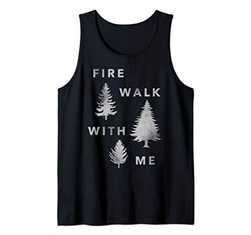 Twin Peaks Fire Walk With Me Tree Silhouette Tank Top (Twin Peaks Fire Walk With Me Ost)