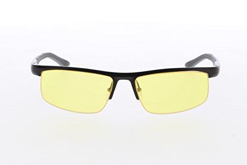 TNTi™ Billet Aluminum Frame eSport Pro Major League Gaming Glasses - Black Pearl by TNT interactive (Image #1)