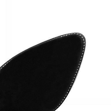 à Beige à Décontracté amp;xuezi Confort vert Nouveauté Bottes Bottes Gros militaire Gland 5 GLL Similicuir Véronèse 7 cm Femme Vert Noir la Mode Talon Printemps Hiver YxT7ww1