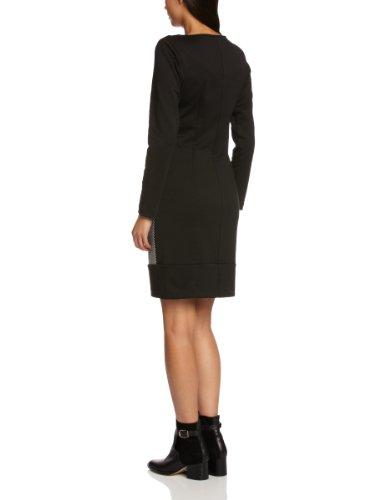 James Lakeland - Vestido ceñido de manga larga para mujer Negro