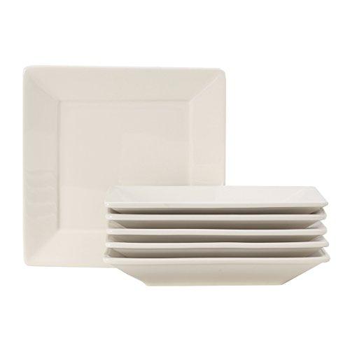 - Tuxton Home Duratux Square Plate 8 1/2
