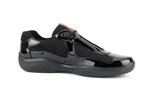 Sneaker Da Uomo In Pelle Verniciata Antiade Per Uomo Americas, Nero (nero)