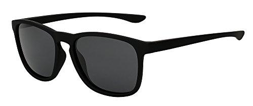 DE negro D'epoca TIANLIANG04 W calidad Diseño w gafas sol lujo polarizadas de azul Mens de UV400 espejo Matte Marca de ESPEJO gafas gafas hombres sol de Piazza de black LENTES black Sqr5gq61