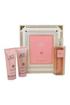 - Givenchy Hot Couture 3 Piece Gift Set (Eau de Toilette Spray Plus Silk Body Veil Plus Delicate Bath Gel)