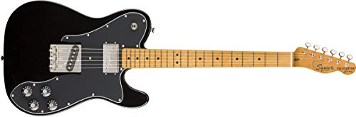 Squier by Fender Classic Vibe 70's Telecaster Custom Electric Guitar - Maple - Black Custom Bass Guitar Bodies