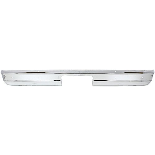 Rear Step Bumper for Chevrolet/GMC Full Size Van 1978-1996 Chrome Steel