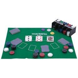 Maxam SPTXPOK Casino Style Texas Holdem Poker Set 208 Piece by Casino
