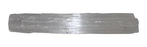 Crystalo - Selenite Stick 7 to 8 inches - (1pc) - Wand, Reiki, Chakra Healing ()