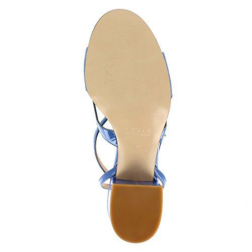 Evita Shoes Mariella - Sandalias de vestir de Piel para mujer Azul