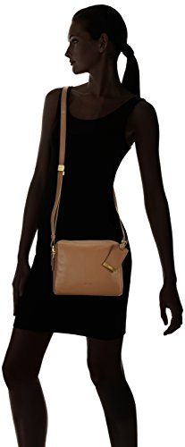 BREE Avignon 5, fango, cross shoulder XS W15 - Bolso bandolera para mujer Beige (fango 497)