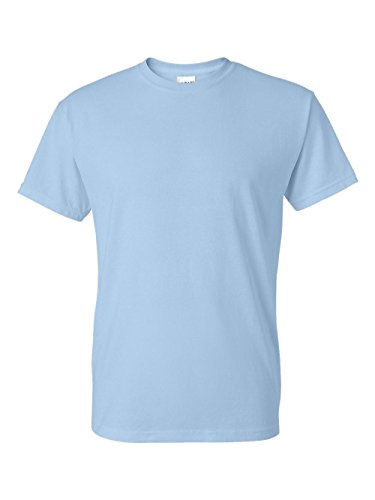 5.6 oz. 50/50 T-Shirt(G800)-LIGHT BLUE-L ()