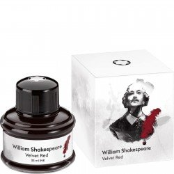 Montblanc Writers Edition 2016 William Shakespeare Velvet Red Ink Bottle 35ml