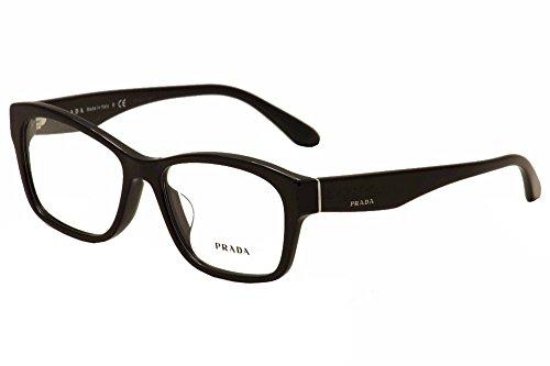 Prada Voice Eyeglasses PR24RV 1AB1O1 Black 54 16 140 (Prada Voice)