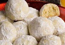 Italian Wedding Cookies 2 DZ