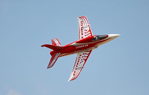Stinger 90 Extreme Performance 90mm with 12 Blade EDF Ducted Fan Jet RC Airplane PNP (No Radio, battery, charger)