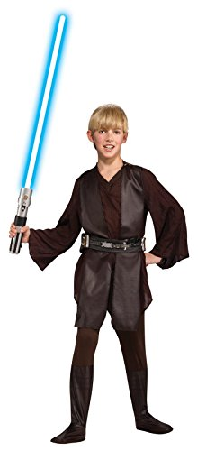Star Wars Child's Deluxe Anakin Skywalker Costume, Medium (Anakin Skywalker As A Kid)