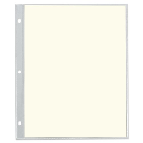 Top Loading Leather (Gallery Leather Presentation Binder 11x9 Top Loading Refill Pages)