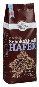 bauck Hofmeister bio sin gluten Avena cereales Chocolate (1 x 425 gr)