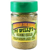 (PC Willy's Green Chile Seasoning and Rub)