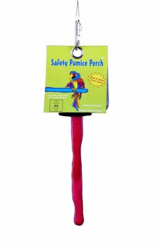 (Sweet Feet and Beak X-Small Patented Safety Pumice Perch)