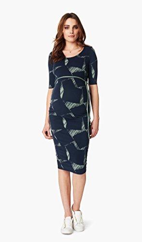 Noppies Dress SL Bliss AOP-Vestido mujer, Navy (C166)