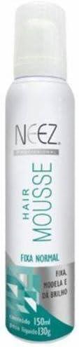 Hair Mousse Fixa Normal, Neez, Neutro