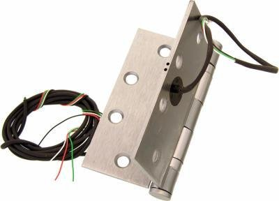Command Access ETH2WH4545 Power Transfer Hinge 2 Wire Square Corner