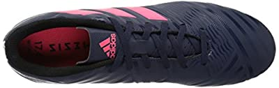 adidas Originals Adidas Women's Nemeziz 17.4 FG W Soccer Shoe, Trace Blue/Red Zest/Core Black, 7 M US