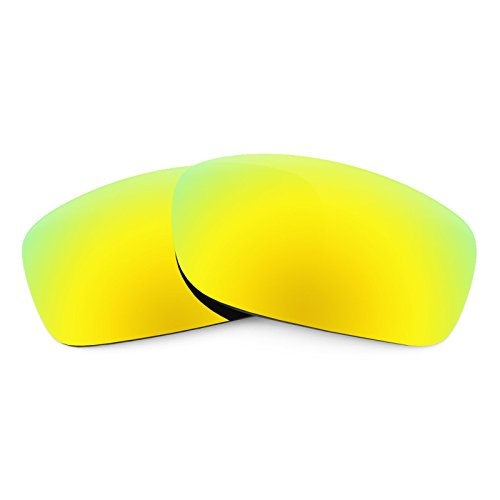 Revant Polarized Replacement Lenses for Oakley Fives Squared Bolt Gold MirrorShield