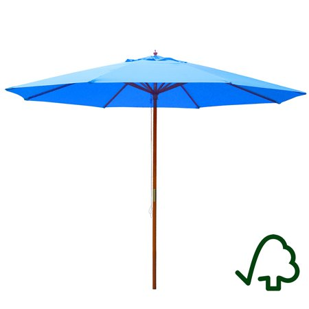 Blue Umbrella 13 Ft for Outdoor or Patio For Sale