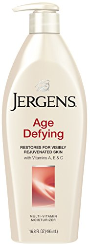 Jergens Age Defying Multi-Vitamin Body Moisturizer, 16.8 Ounces