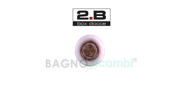 Generico - Rueda de Repuesto para rodamiento de mampara de Ducha 2B 49887745: Amazon.es: Hogar