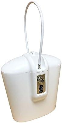 Safego - Caja fuerte portátil para interior y exterior con llave y ...