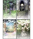 "Scripture Greeting Cards-KJV-Boxed-Sympathy - ""Gateways to Grace"""