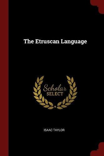 The Etruscan Language